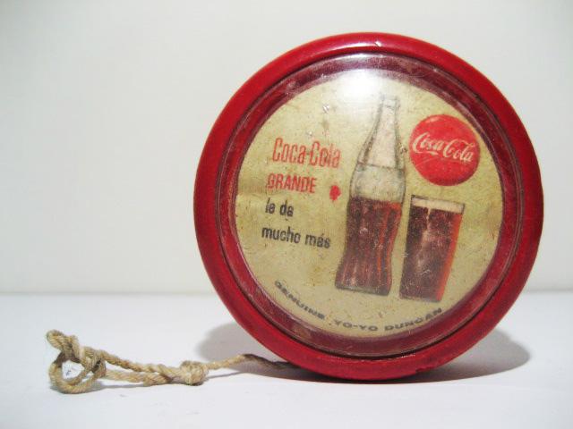 Coca-cola Duncan yo-yo