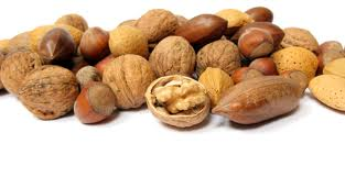 unshelled nuts