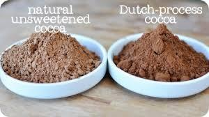 Dutch-process cocoa
