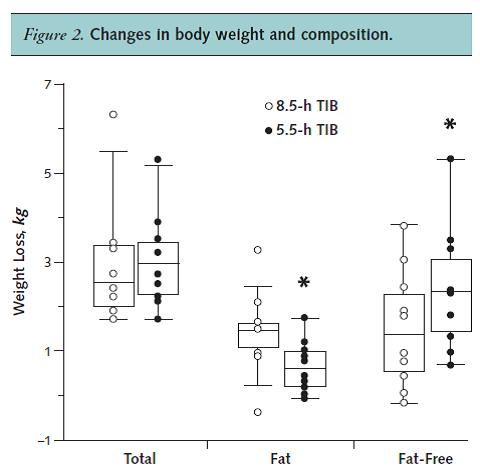 muscle and fat loss