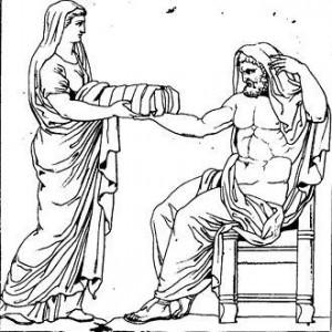 The original Rhea, a Greek Titaness.