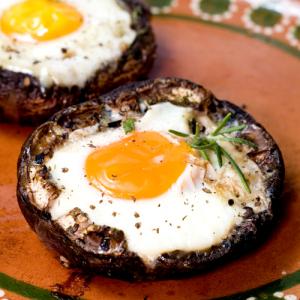 Portobello eggs